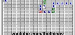 Begin a Minesweeper game