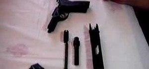 Field strip a Beretta PX4 Storm, Type F pistol