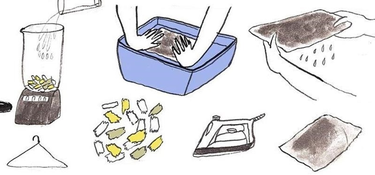 Make Your Own Recycled Paper at Home