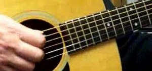 "Play ""One"" by Metallica on acoustic guitar"