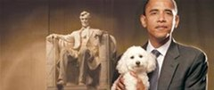 Stop the Obama pup from tearing apart the White House