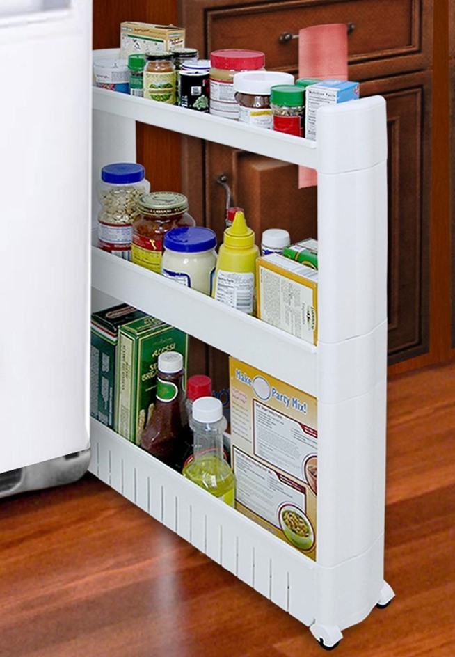 10 smart storage hacks for your small kitchen food hacks for Small kitchen hacks