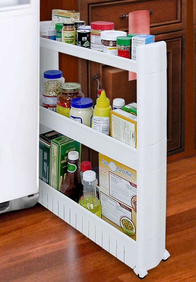 Narrow Kitchen Storage Cabinet Amazon