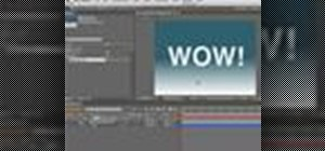 Create a 3D RG warp shadow with Adobe After Effects