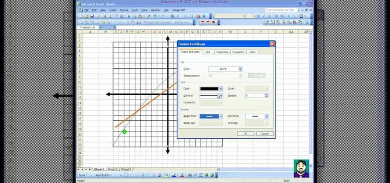 How To Make A Coordinate Plane Or Venn Diagram With Excel