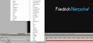 Make futuristic digital titles in After Effects