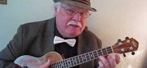 "Play ""Teddy Bears' Picnic"" on the ukulele"