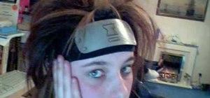 Make a decent Naruto headband