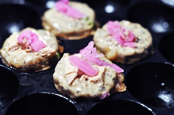 Takoyaki: Decadent Japanese Street Food with Foie Gras and Caviar