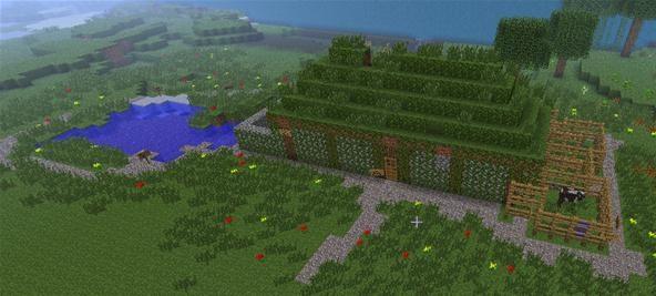 Medieval peasant house