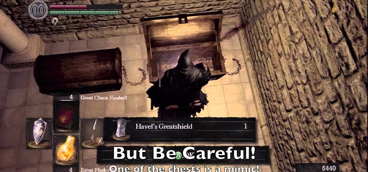 how to obtain the secret havel armor in dark souls xbox 360