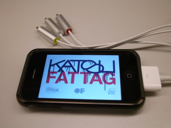 iPhone App + Projector Lets You Tag....Well, Anything