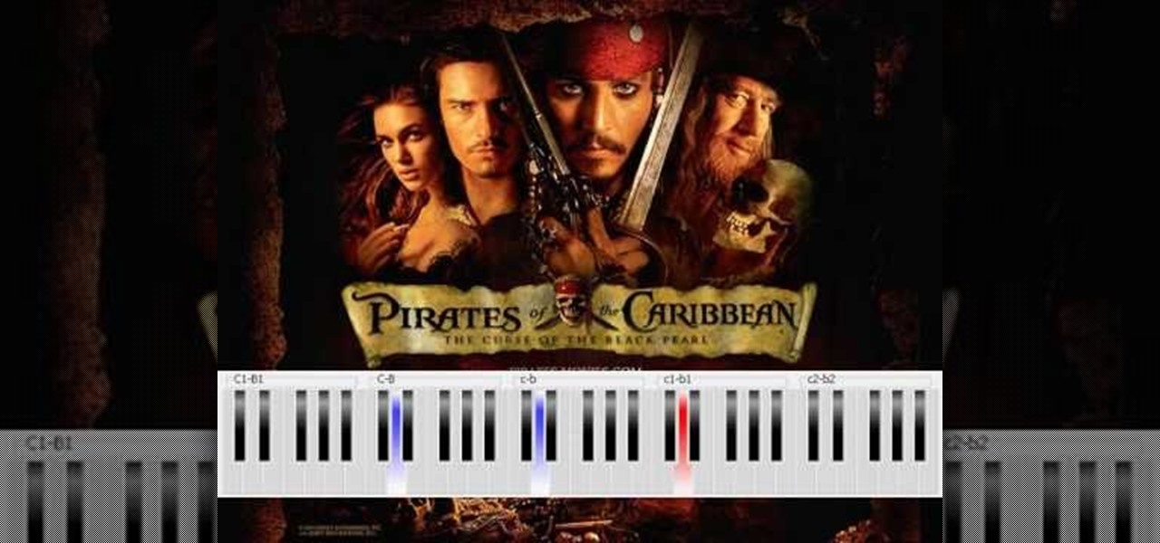 How To Play Hes A Pirate From Pirates Of The Caribbean Piano