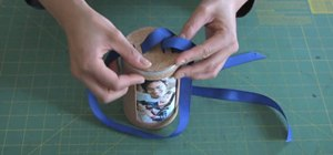 Craft an eco-friendly cylindrical photo gift box