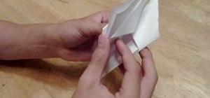 Make an origami flower in a few easy steps