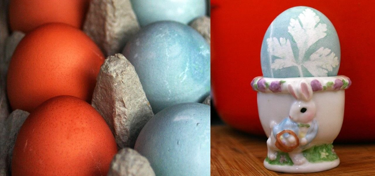 How To Color Easter Eggs With Veggies Herbs Instead Of Store - Color-easter-eggs