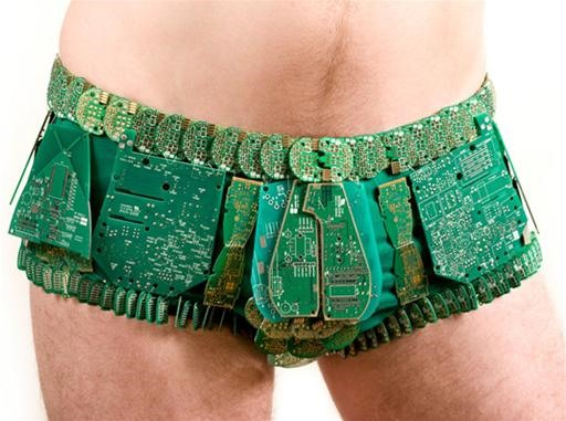 Circuit Board Tighty Whiteys