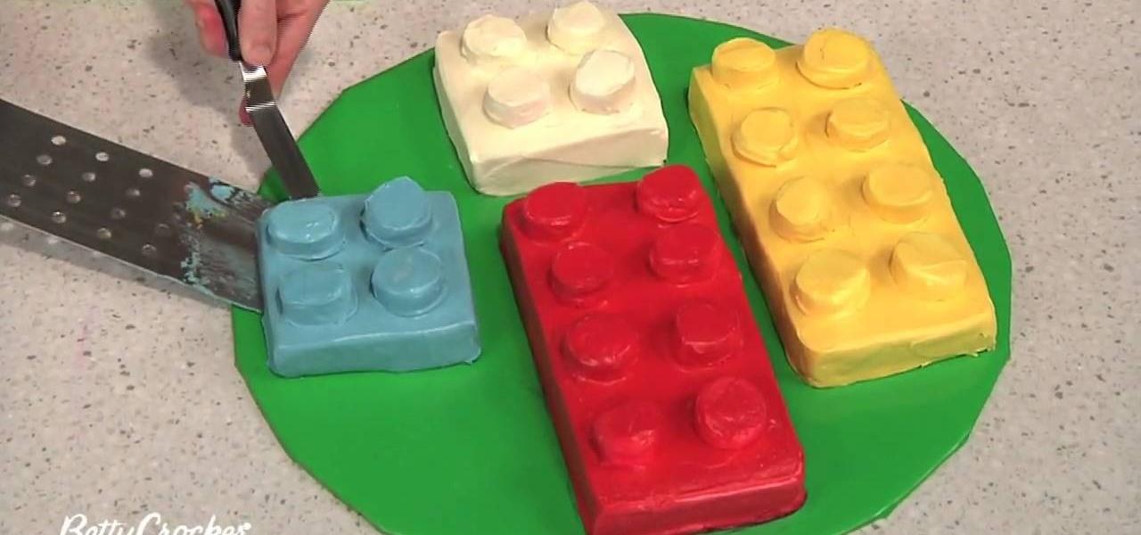 How To Make A Building Block Birthday Cake Decorating WonderHowTo