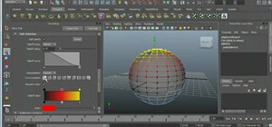 Use the Soft Select feature in Autodesk Maya 2011