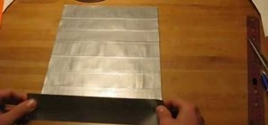 Make a duct tape bookbag