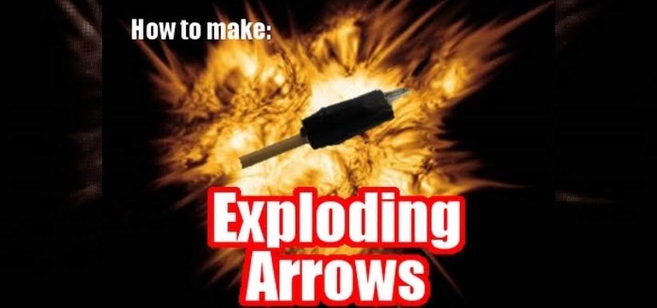 Make Exploding Arrows