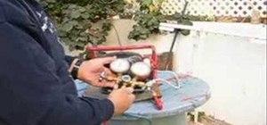 Convert a refridgerator compressor into a vacuum pump