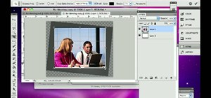 Rotate and crop a digital photo in Adobe Photoshop CS5