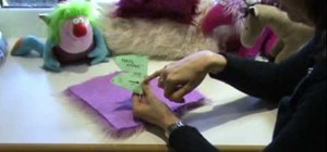 Make a stuffed horse toy with fake fur