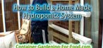 How to Build your own hydroponics system