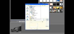 Import media from a hard drive in Corel Video Studio