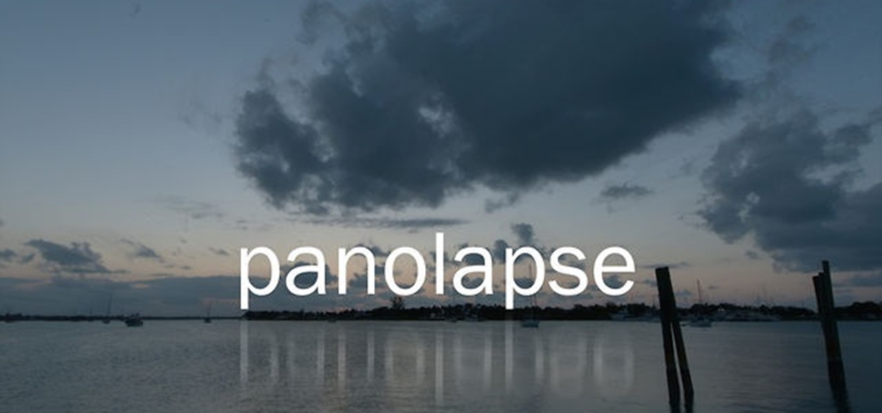 Add Motion to Timelapse Videos with Panolapse