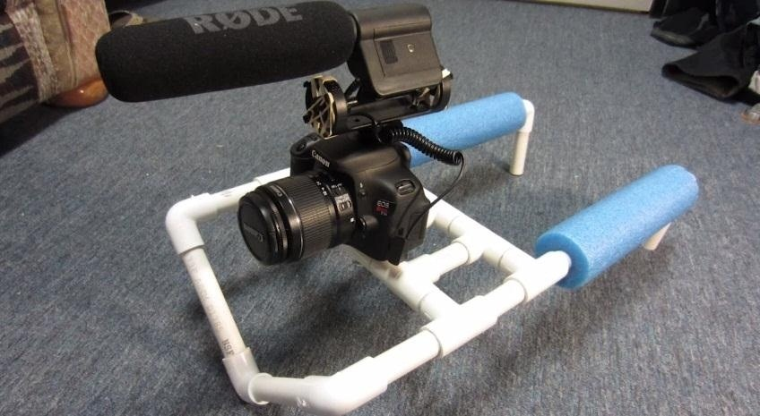 How to Build a Double-Shoulder Camera Mount for Only $8 Using PVC