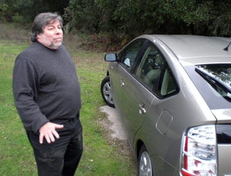 Apple Founder Wozniak: Prius SOFTWARE Also Causing Out-of-Control Acceleration