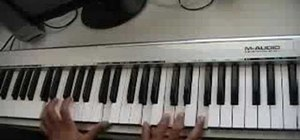"Play ""Body On Me"" by Ashanti ft. Akon & Nelly on piano"