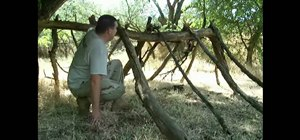Make a monsoon shelter