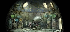 Solve all the puzzles in the final part of the game Machinarium