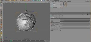 Fake a hardbody collision with cloth in Cinema 4D