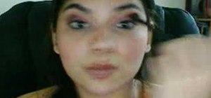 Properly use eyeshadow brushes