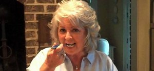 Prepare macaroni and cheese with Paula Deen