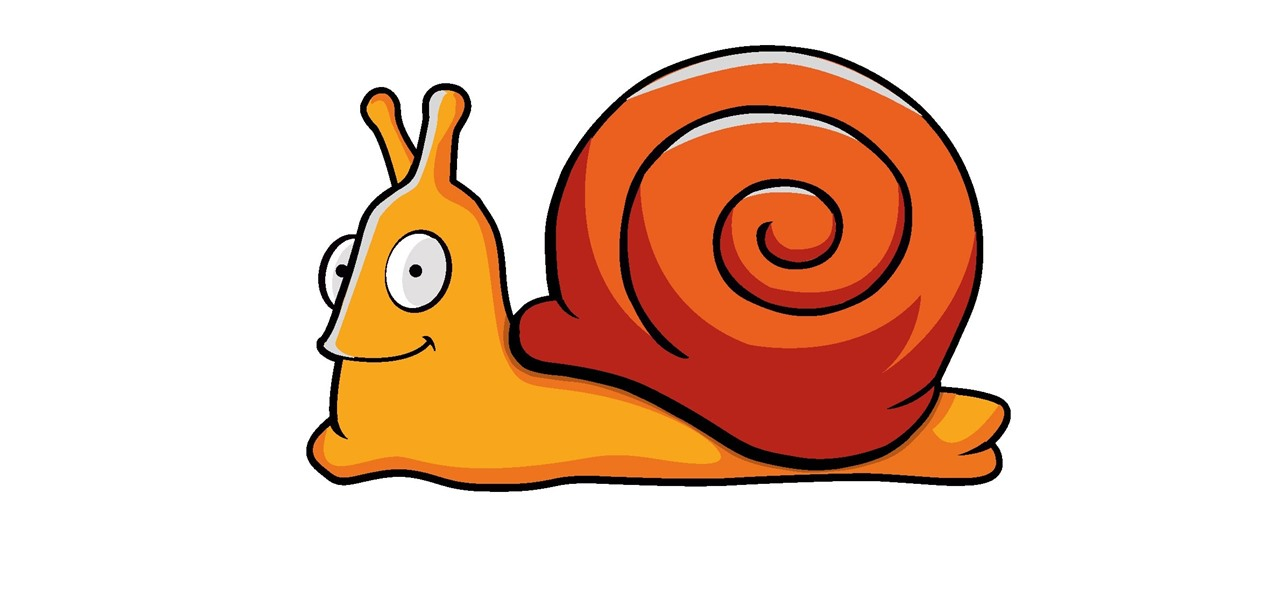 How to draw cartoon snail in adobe illustrator adobe for Simple snail drawing