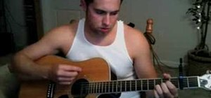 "Play ""Hear You Me"" by Jimmy Eat World on the guitar"