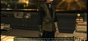 Earn the 'Yes Boss' achievement in Deus Ex: Human Revolution on the Xbox 360