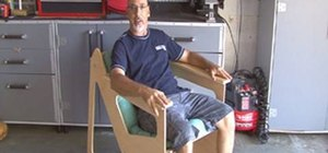 Build a Rok-Bak chair out of a single piece of plywood