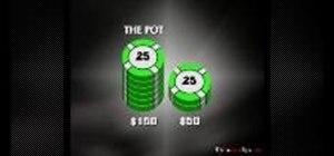 Calculate pot odds in Texas Hold'em