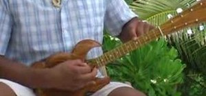 Tune an eight string ukulele