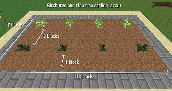 How to Build a Tree Farm in Minecraft for Easy Access to All Types of Wood