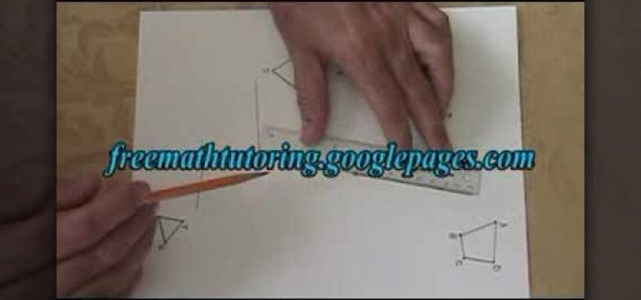 How To Draw A Translation In Geometry Math Wonderhowto
