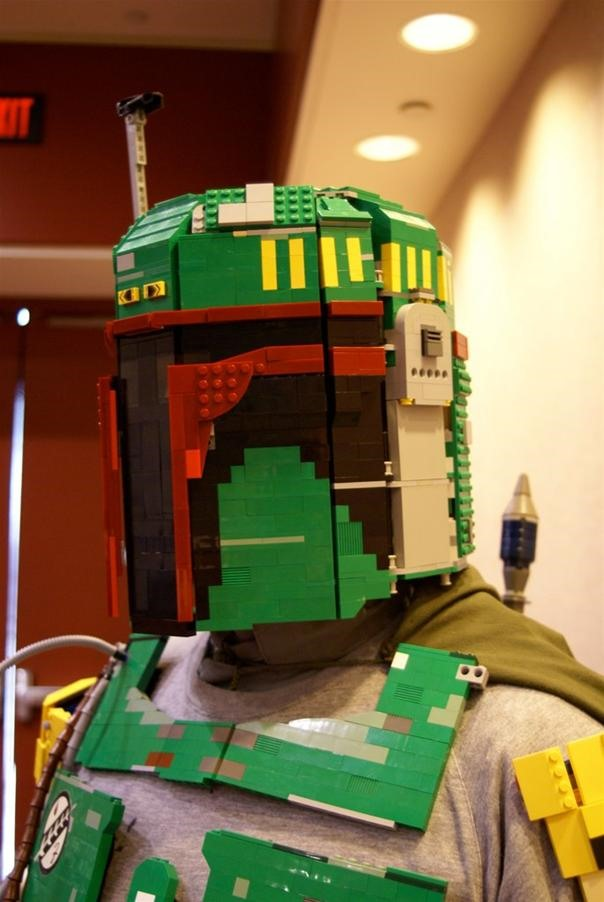 Boba Fett Armor made of LEGOS