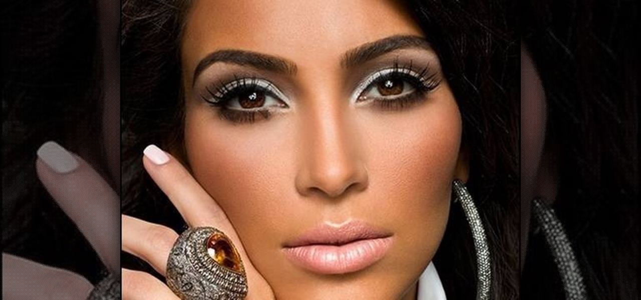 how to put makeup on like kim kardashian