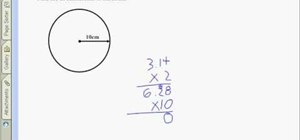 Find the circumference of a circle